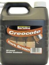 Preserve Wood Fence Surface Treatment 4L Creosote Substitute Dark Brown Timber