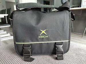 Rare Xbox Original Console Black Carry Case Shoulder Bag Satchel