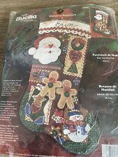 "Bucilla Felt Stocking Kit ""Christmas Patchwork"""