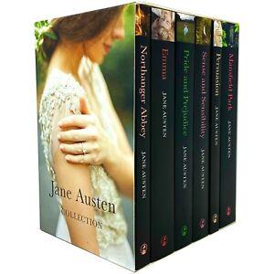 Jane Austen Complete 6 Books Collection Box Set (Northanger Abbey, Emma, Pride a