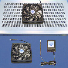 Home Theater 120mm multispeed cooling fan w/Airseal base for Amps and Receivers