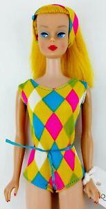 Vintage 1966 Barbie Color Magic Golden Blonde Barbie Reproduction Fashion #1150