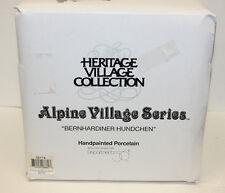 Bernhardiner Hundchen - Alpine Village Series - Department 56 - 56222