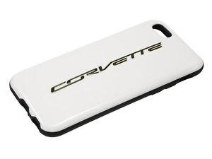 Corvette Script White IPhone Cover / Phone Case