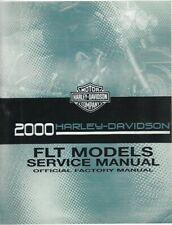 Harley-Davidson 2000 Flt / Touring Models Service Manual P/N 99483-00