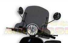 large smoked malossi flyscreen Vespa PX 125 150 200 LML Star Deluxe T5 Classic