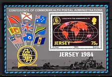Jersey - 1984 Postal administration congress - Mi. Bl. 3 MNH