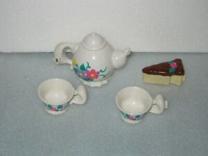 Playmates Amazing Ally Doll Interactive Teapot Cups & Cake
