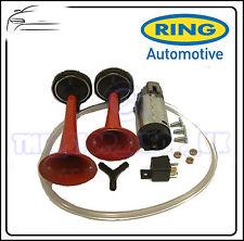 Ring 12v Twin Air Horn LOUD Set Pack RAH122