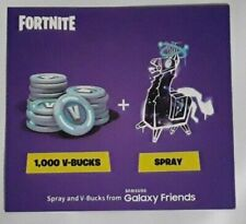 NO CODE - Samsung Galaxy Fortnite Llamalaxy Spray Card *ALL CODES HAVE BEEN USED