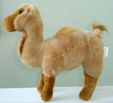 DROMEDARY CAMEL plush stuffed animal STANDING New REALISTIC 17""