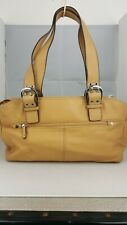 Tignanello tan brown / beige handbag