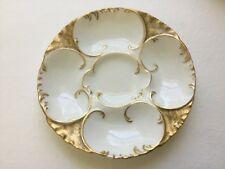 Antique Haviland Limoges Oyster Plate, op383  ANTIQUE GIFT QUALITY!!