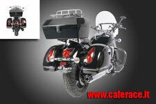 Bauletto rigido portapacchi Tour Pack moto custom harley davidson 48 litri