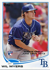Wil Myers Unsigned 2013 Topps Rookie Card