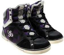 South Pole Rhapsody Hi Top Fashion Sneakers Purple Silver Size 9.5 M EU 41
