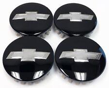 SILVERADO SUBURBAN TAHOE 1500 REDLINE OEM BLACK CENTER CAPS CAP SET 84128219