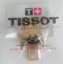 NEW SEALED TISSOT 18mm YELLOW GOLD BUCKLE CLASP  FOR T17 T41 T461 PRC200 STRAP