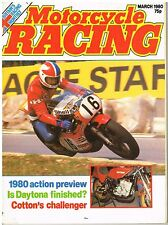 Motorcycle Racing Mar 1980 Cotton Avant Singleton Hobbs Ballington Mamola KR500