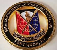 US Army 904th Contingency Contracting Battalion Fort Knox KY For Excellence