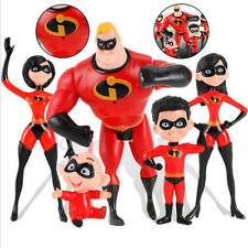 """6"""" The Incredibles 2 Family 5-Pack Junior Supers Action Figures Boys&Girls Toys"""