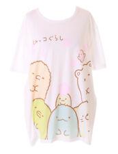 TP-181-18 Zeichenfiguren Tiere Sakura Weiß Grafik langes T-Shirt Harajuku Kawaii