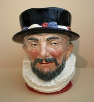 Large Vintage Character Jug - Beefeater - by Royal Doulton