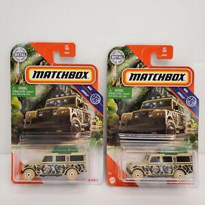Matchbox MBX Jungle '65 Land Rover Gen II Variations Pair 2020
