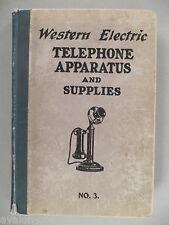 Western Electric CATALOG - 1916 ~~ telephone, electrical apparatus & supplies