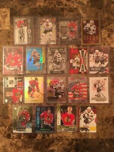 Lot of 18 Patrick Kane Cards - All Inserts & Parallels - No Duplicates