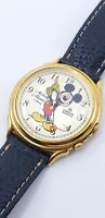 Vintage Disney Mickey Mouse LORUS Melody Alarm Wrist Watch Y975-6A20