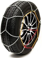 "Sumex Husky Winter Classic Alloy Steel Snow Chains for 17"" Car Wheel Tyre's PAIR"