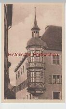 (75748) AK Würzburg, Erker am bischöflichen Palais, vor 1945