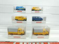 BD413-0,5# 6x Wiking 1:87 Volkswagen: 295 Transporter+296 Caravelle etc W+