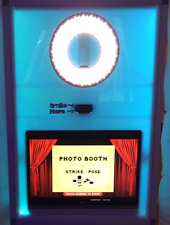 LED Photo Booth Complete Business! Booth, Touch Screen, Camera, Laptop, Software