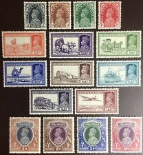 India 1937-40 Definitives Set To 10r MH/MLH