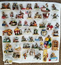 Huge - Charming Tails Lot - 48 Figurines -less than $8.00 each!