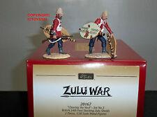 BRITAINS 20167 ZULU WAR CLEARING THE YARD BRITISH 24TH FOOT STACKING SHIELDS SET