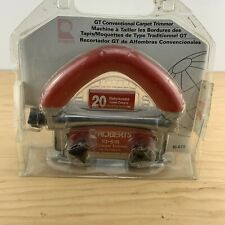 Roberts Carpet Trimmer - 10-616 New Old stock In Seal Package 20 Blades