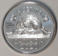 2020 Canada 5 Cents BU