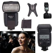 LCD Flash Light Speedlite Lamp for Digital Camera Canon Sony Nikon Pentax DSLR