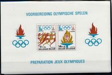 [16505] Belgium olympics good very fine MNH sheet X5