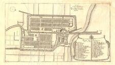 'Plan de Batavia'. Jakarta town/city plan. Dutch East Indies. DE FER 1705 map
