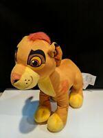 "Lion King, Kion Son of Simba Lion Guard stuffed plush 14"" Sings"