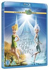 Disney's Tinker Bell & The Secret of the Wings [Blu-ray Region Free Fairies] NEW