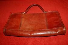 Petit sac MANFIELD Paris made in Italy - marron