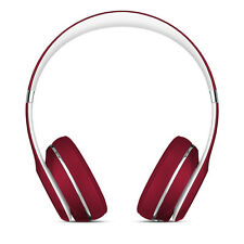 Beats by Dr. Dre Solo 2 Headband Headphones - Luxe Red