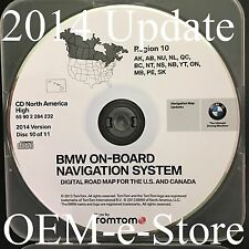 2000-2004 Range Rover Phaeton 99-2002 BMW Navigation CD Map Cover Canada Alaska