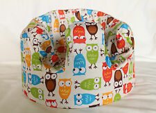 *NEW DESIGN'  Bumbo 100% Cotton Seat Cover with 'Wise Owls'