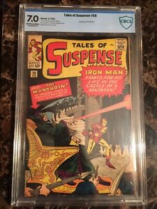 Tales of Suspense #50 CBCS 7.0 OW/W *1st Mandarin* LOOKS NICER! - MOVIE COMING!!